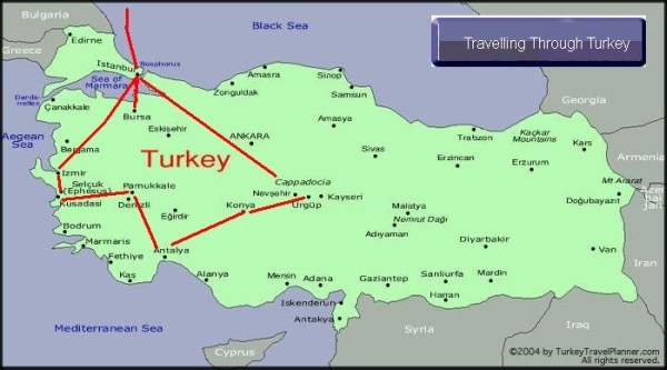 Aug 13 - Turkey Trip